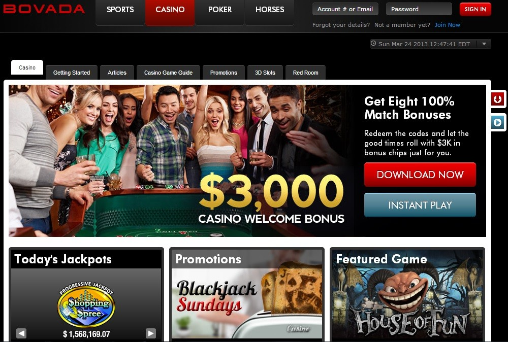the first online casino please wait