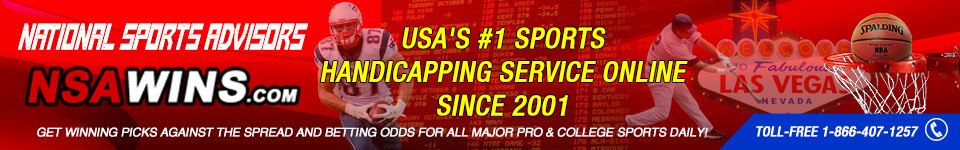 NSAwins.com – Expert Sports Picks from USA's #1 Sports Handicapping Service!