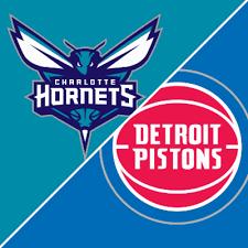 Hornets @ Pistons Free Pick
