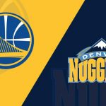 warriors @ nuggets