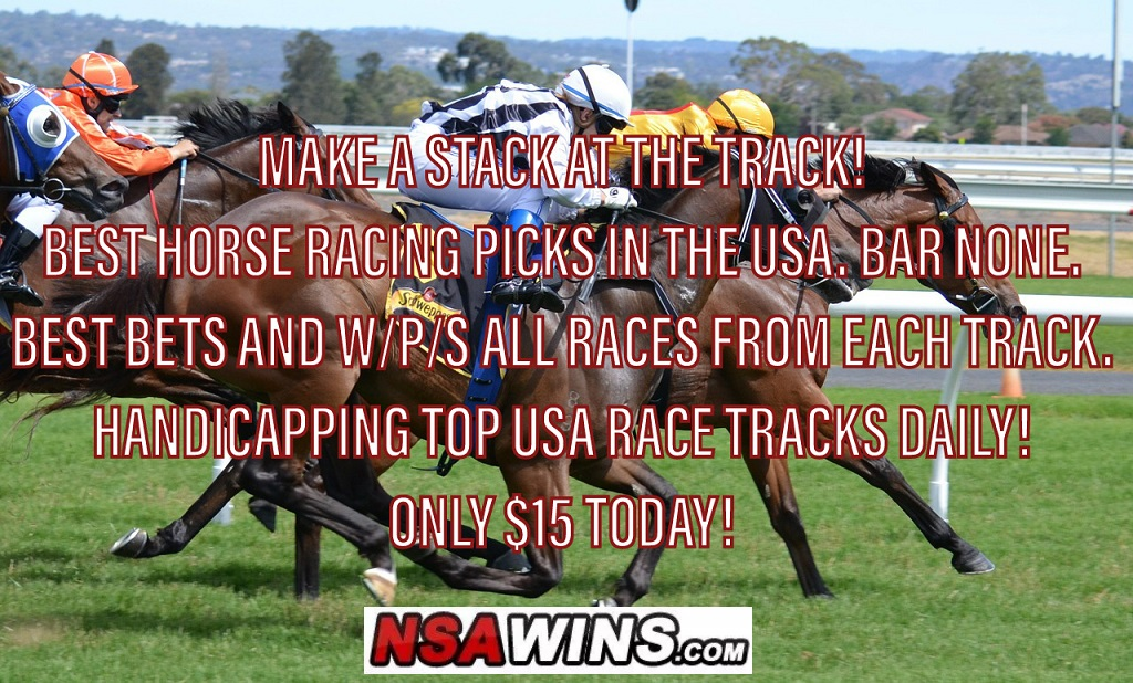 Horse Racing Picks on Wednesday – PARX Racing, Indiana Grand & Charles Town. W/P/S ALL 28 Races and 9 BEST BETS!